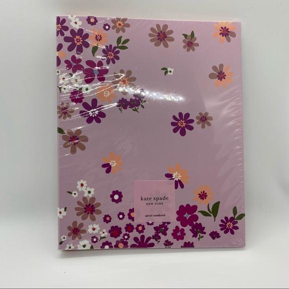 Kate Spade New York Floral Spiral Notebook
